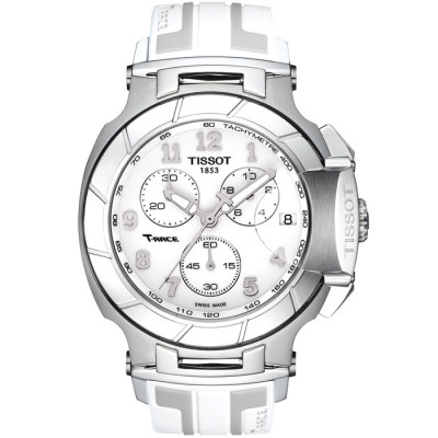 TISSOT T-RACE CHRONOGRAPH QUARTZ 45.3x50.26MM MEN'S WATCH T048.417.17.012.00