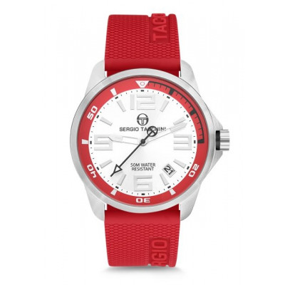 SERGIO TACCHINI STREAMLINE 46MM MEN'S  WATCH  ST.9.120.08