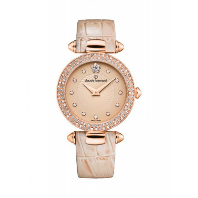 CLAUDE BERNARD DRESS CODE 30MM LADIES' WATCH 20504 37RP BEIR2