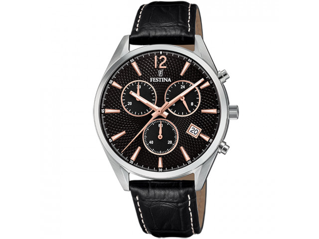 FESTINA CHRONOGRAPH 42MM MEN`S WATCH F6860/7