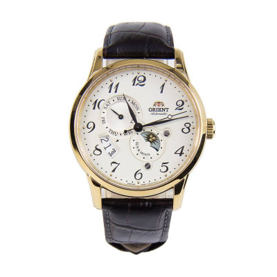 ORIENT CLASSIC AUTOMATIC SUN AND MOON 43MM MEN'S WATCH RA-AK0002S