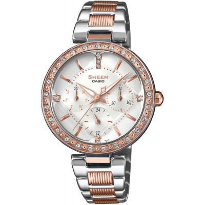 CASIO SHEEN SWAROVSKI EDITION SHE-3068SPG-7AUER