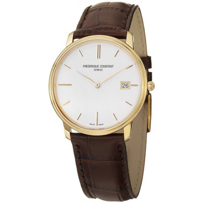FREDERIQUE CONSTANT SLIMLINE QUARTZ 37MM MEN'S WATCH FC-220NW4S5
