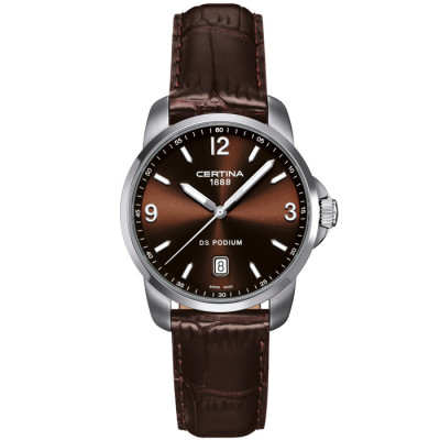 CERTINA DS PODIUM 38MM QUARTZ  MEN'S WATCH C001.410.16.297.00