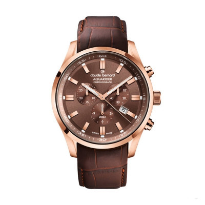 CLAUDE BERNARD AQUARIDER 44MM MEN'S WATCH 10222 37RC BRIR1