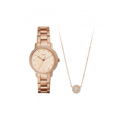 FOSSIL CARLIE 35 MM LADIES' WATCH ES4384 SET