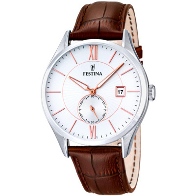 FESTINA RETRO  42.5MM MEN`S WATCH F16872/2