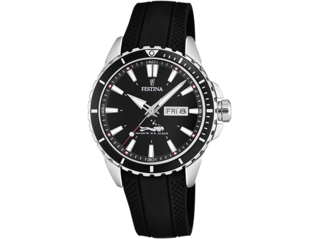 FESTINA DIVER 44.5MM MEN''S WATCH  F20378/1