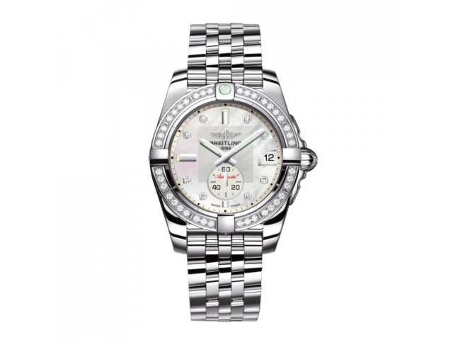 BREITLING GALACTIC 36 AUTOMATIC LADIES WATCH A3733053/A717/376A