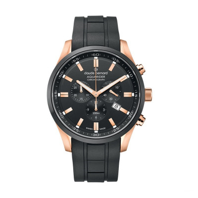 CLAUDE BERNARD AQUARIDER 44MM MEN'S WATCH 10222 37RNCA NIR