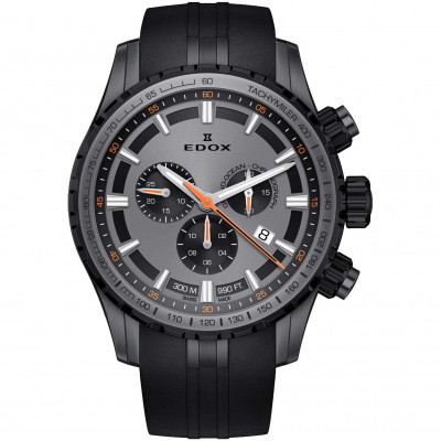 EDOX GRAND OCEAN CHRONOGRAPH 45MM MEN'S WATCH 10226 37GNCA GINOR