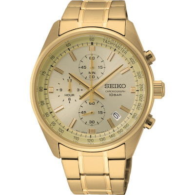 SEIKO SPORT CHRONOGRAPH QUARTZ 42MM MEN'S WATCH SSB382P1
