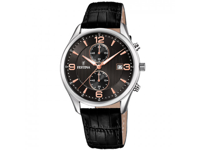 FESTINA CHRONOGRAPH 42MM MEN`S WATCH F6855/7