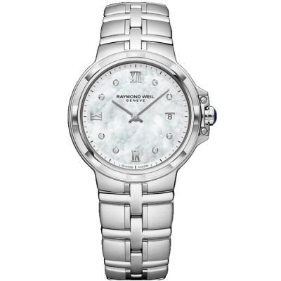 RAYMOND WEIL PARSIFAL QUARTZ 30MM LADIES WATCH 5180-ST-00995