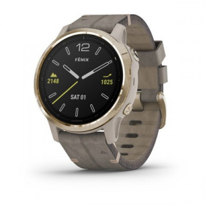 GARMIN FENIX 6S SAPPHIRE LIGHT GOLD 42MM  010-02159-40