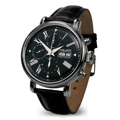 POLJOT INTERNATIONAL  BAIKAL DAY&DATE A CHRONOGRAPH  AUTOMATIC 43MM MEN'S WATCH 7750.1940713