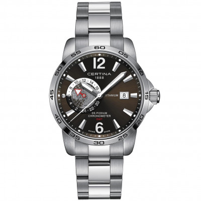 CERTINA DS PODIUM GMT 41MM MEN'S WATCH C034.455.44.087.00