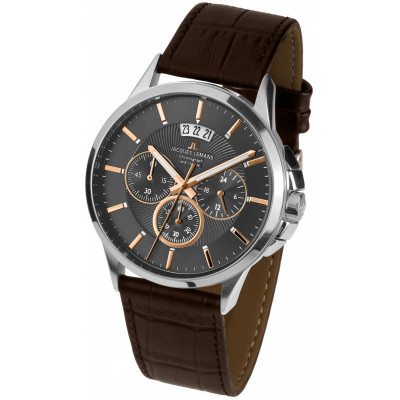 JACQUES LEMANS SYDNEY 42 MM. MEN`S 1-1542H
