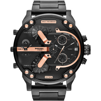 DIESEL THE DADDIES SERIES 57 MM MEN'S WATCH DZ7312