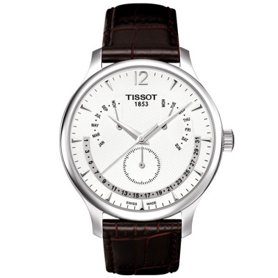 TISSOT TRADITION QUARTZ 42MM MEN'S WATCH T063.637.16.037.00