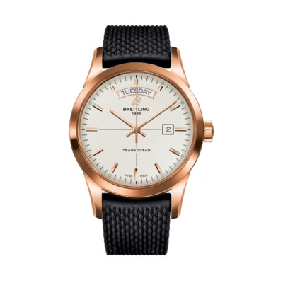 BREITLING TRANSOCEAN DAY&DATE  43MM MEN'S WATCH  R4531012
