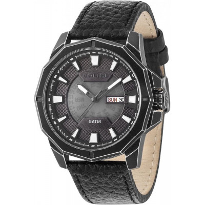 POLICE DODECAGON 48MM MEN'S PL.15327JSQB/78