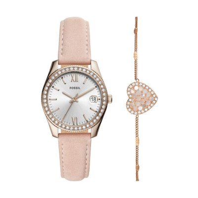 FOSSIL SCARLETTE MINI 32MM LADY'S WATCH ES4607SET