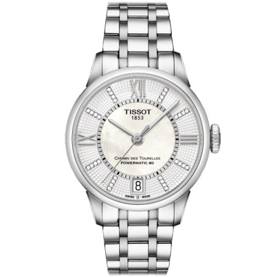TISSOT CHEMIN DES TOURELLES POWERMATICC 80 32MM LADIES WATCH T099.207.11.116.00