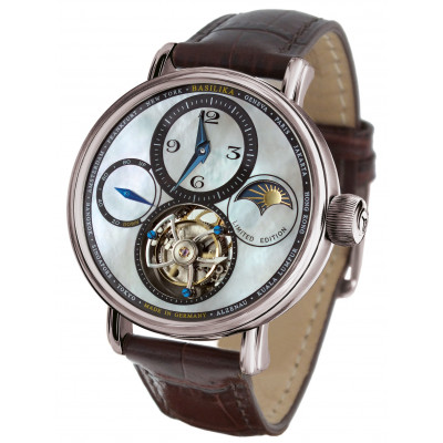 POLJOT INTERNATIONAL TOURBILLON SKELETON POWER RESERVE HAND WINDING 43MM MEN'S WATCH LIMITED EDITION 100 PIECES  3340.T11