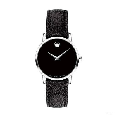MOVADO MUSEUM QUARTZ 28MM LADY'S WATCH 607204