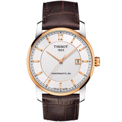 TISSOT TITANIUM AUTOMATIC POWERMATIC80 40MM MEN'S WATCH T087.407.56.037.00