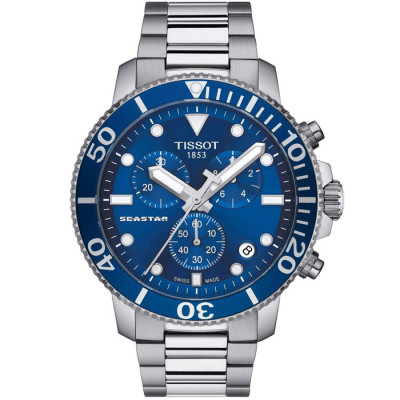 TISSOT SEASTAR 45.5MM MEN'S WATCH  T120.417.11.041.00