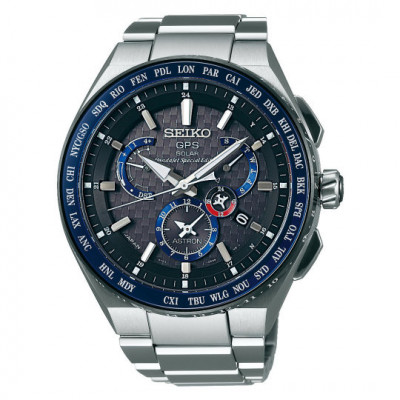 SEIKO ASTRON HONDA JET GPS SOLAR 46MM MEN'S LIMITED EDITION 2000PCS WATCH SBX133