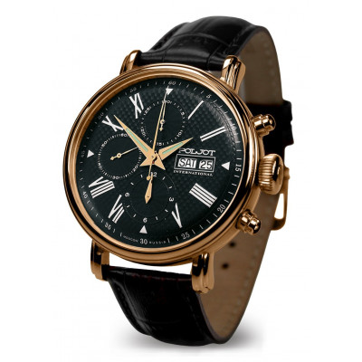 POLJOT INTERNATIONAL  BAIKAL DAY&DATE  CHRONOGRAPH  AUTOMATIC 43MM MEN'S WATCH 7750.1940613