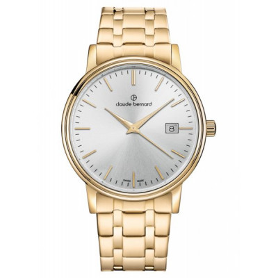 CLAUDE BERNARD CLASSIC GENTS 39 MM. WATCH 53007 37JM AID