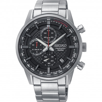 SEIKO SPORT CHRONOGRAPH QUARTZ 42MM MEN'S WATCH SSB313P1