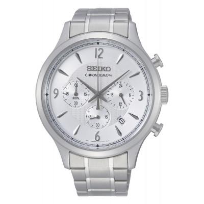 SEIKO SPORT CHRONOGRAPH QUARTZ 44MM MEN'S WATCH SSB337P1