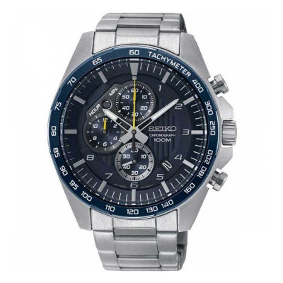 SEIKO CHRONOGRAPH QUARTZ 44MM MEN'S WATCH SSB321P1