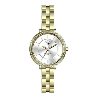 SANTA BARBARA POLO & RACQUET CLUB UNIQUE 30 MM LADY`S WATCH SB.5.1140.2