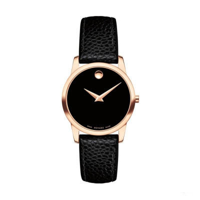 MOVADO MUSEUM QUARTZ 28MM LADY'S WATCH 607061