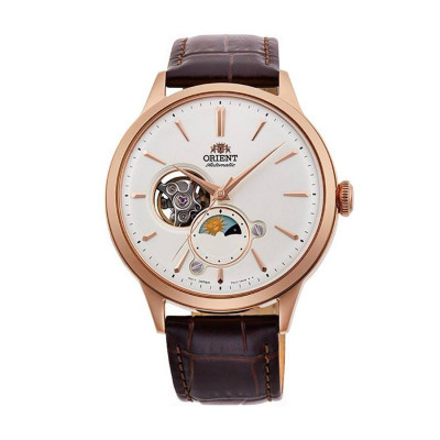 ORIENT CLASSIC AUTOMATIC OPEN HEART 42ММ MEN'S WATCH RA-AS0102S