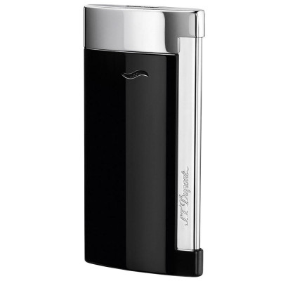 ЗАПАЛКА S.T.DUPONT SLIM 7 BLACK CHROME 27700
