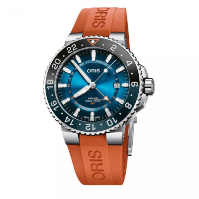 ORIS AQUIS CARYSFORT REEF LIMITED AUTOMATIC 43.5 MM MEN'S WATCH 798 7754 4185 - Set RS