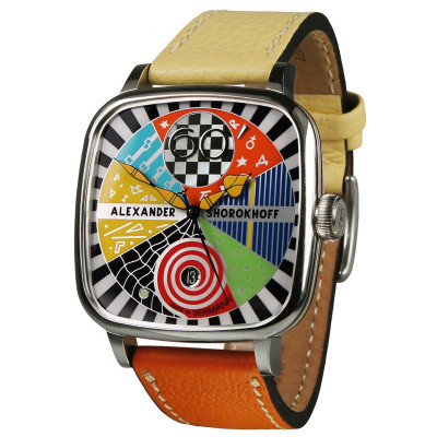 ALEXANDER SHOROKHOFF CANDY AUTOMATIC 41X41MM LADIES WATCH LIMITED EDITION 100PIECES  AS.KD-AVG