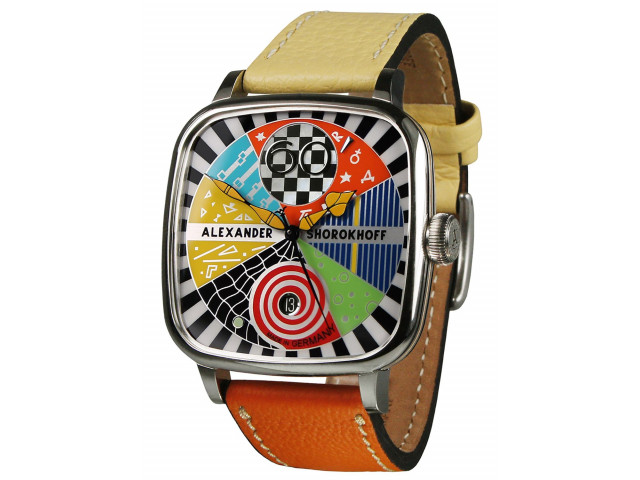ALEXANDER SHOROKHOFF CANDY AUTOMATIC 41X41MM  LIMITED EDITION 100PIECES  WATCH AS.KD-AVG