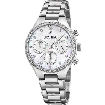 FESTINA CHRONOGRAPH 36MM LADIES WATCH F20401/1