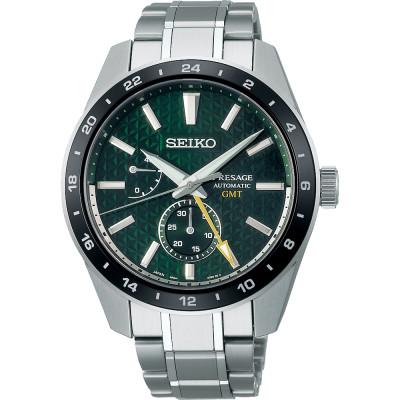 SEIKO PRESAGE GMT 42MM MEN'S WATCH SPB219J1