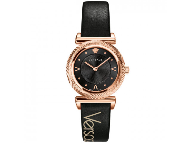 VERSACE V-MOTIF VINTAGE LOGO 35MM LADIES WATCH VERE008 18
