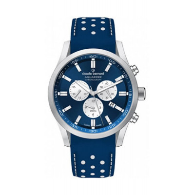 CLAUDE BERNARD AQUARIDER CHRONO 44MM MEN'S WATCH 10222 3C BUARIN