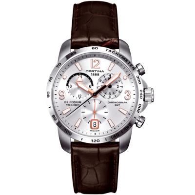 CERTINA DS PODIUM CHRONO GMT 42MM MEN'S WATCH C001.639.16.037.01